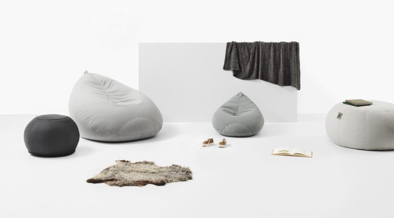 The Bean Bag Reinvented: Lujo - Design Milk