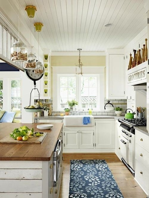 31 Cozy And Chic Farmhouse Kitchen Décor Ideas - Viral pictures of