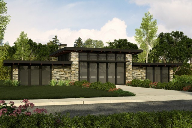Modern Contemporary House Plans | Contemporary Home Designs with Photos