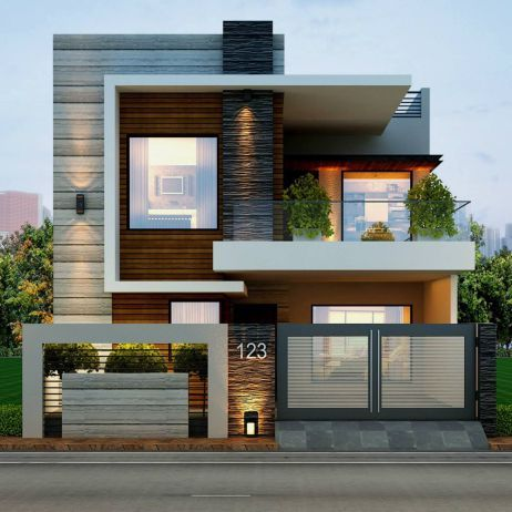 50 Best Modern Architecture Inspirations | brick interlocking