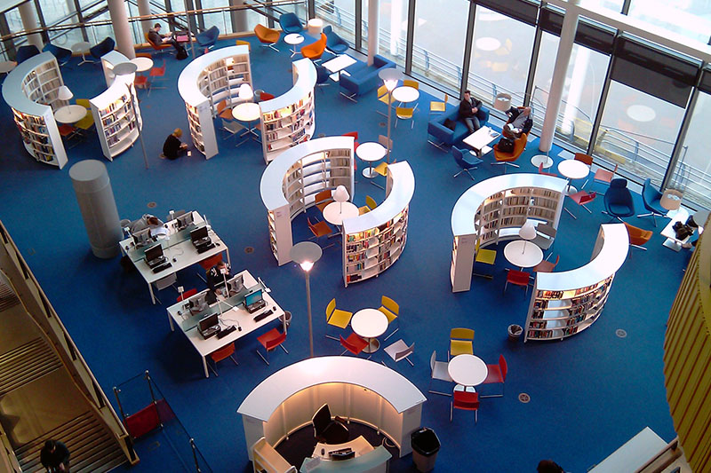 Contemporary Library Design Archives - BCI