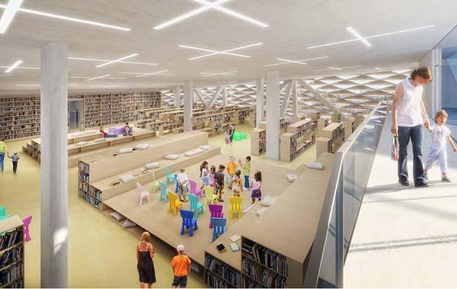 Varna Contemporary Library by PLUKK+FARA-ON