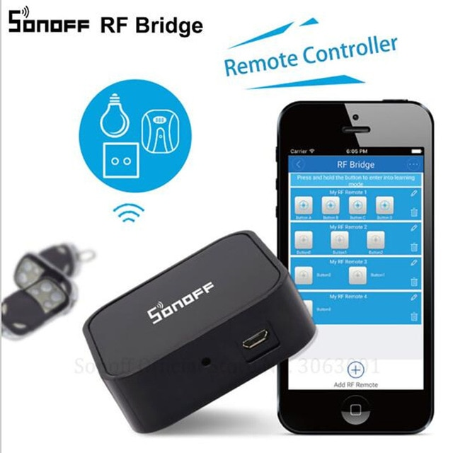 Sonoff RF Bridge Smart Home Automation Module Wifi Switch Diy