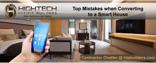 Home Improvement: Converting to a Smart Home - htpbuilders.com