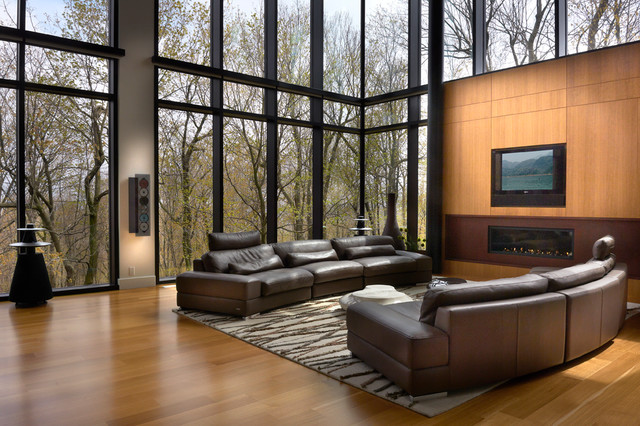 Modern cool - Modern - Living Room - Montreal - by Proscenium