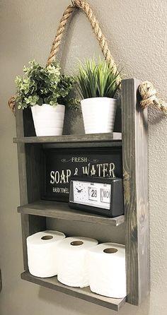 Remarkable Ideas Rustic Bathroom Shelves Simple Decoration Bathroom