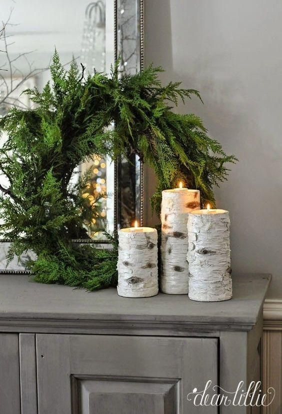 Winter Decor Ideas | Family & Living Room Ideas | Rustic winter