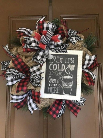 Simple But Fun Country Winter Decoration Ideas 05 | Home Decor