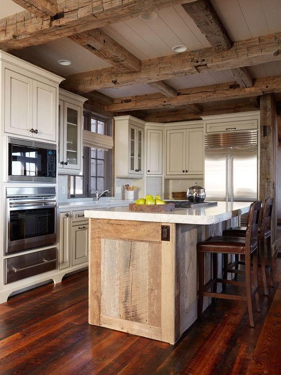 20 Cozy Rustic Kitchen Design Ideas | If ever | Rustic kitchen
