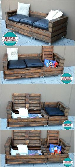 80 Awesome Creative DIY Pallet Furniture Project Ideas | dyi
