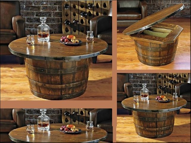 36 Creative DIY Ideas to Upcycle Old Wine Barrels | decor | Wine