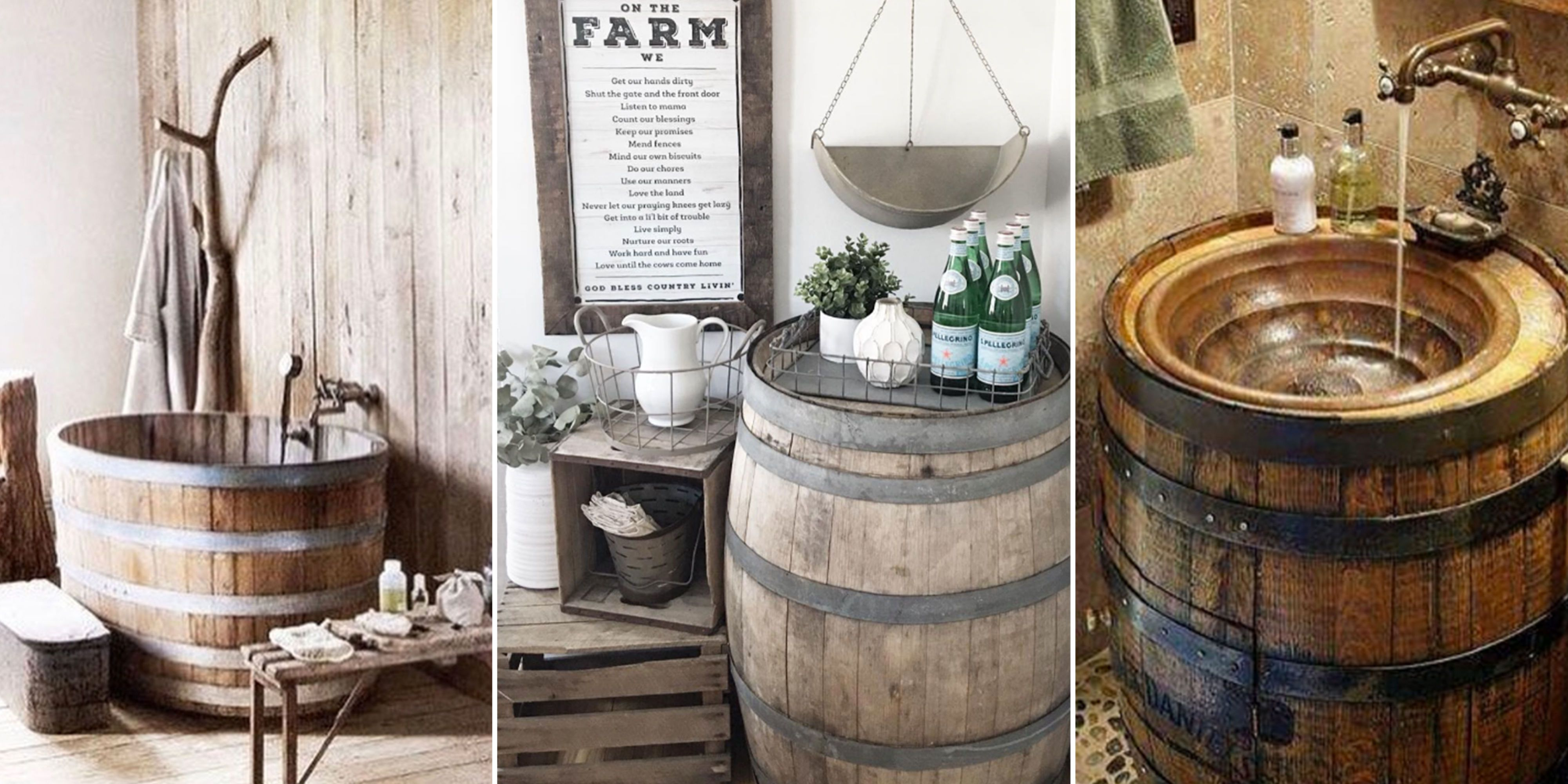 35 Genius Ways People Are Repurposing Whiskey & Wine Barrels - How