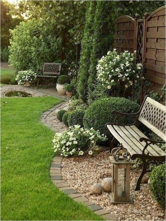 50 Cute Backyard Garden Ideas | Landscaping best | Decoraciones de