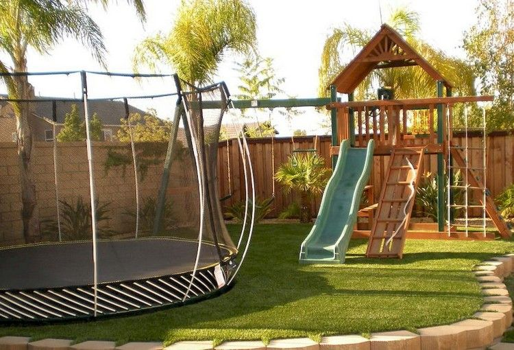 38 Inspiring And Cute Backyard Garden Playground For Kids | home
