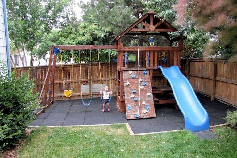 Cute Backyard Garden Playground Ideas 4
