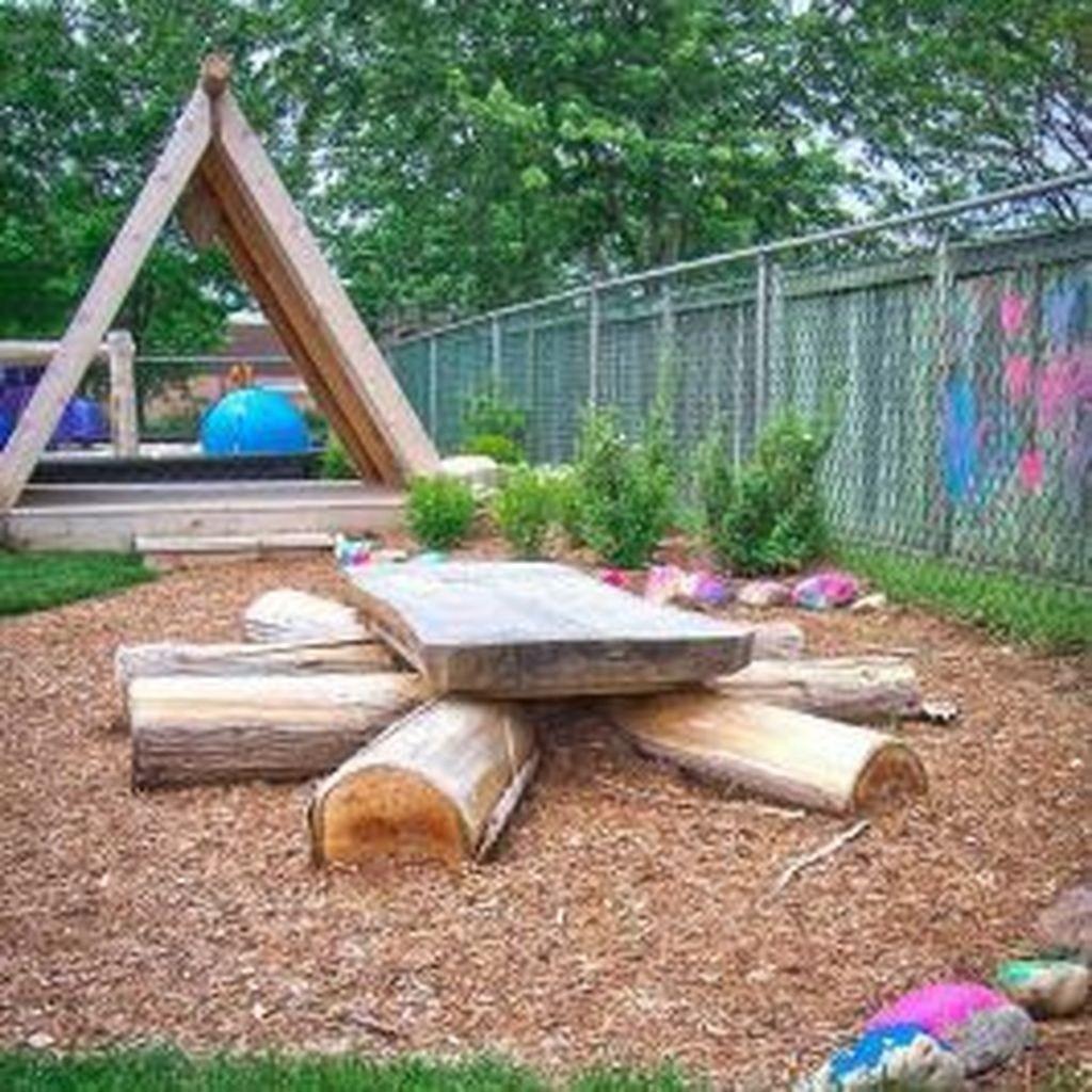 48 Cute Backyard Garden Playground Ideas - TREND4HOMY