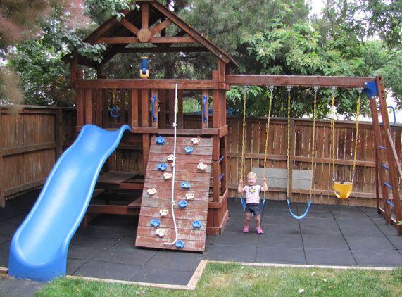 Backyard Play Ideas Creative and Cute Backyard Garden Playground for