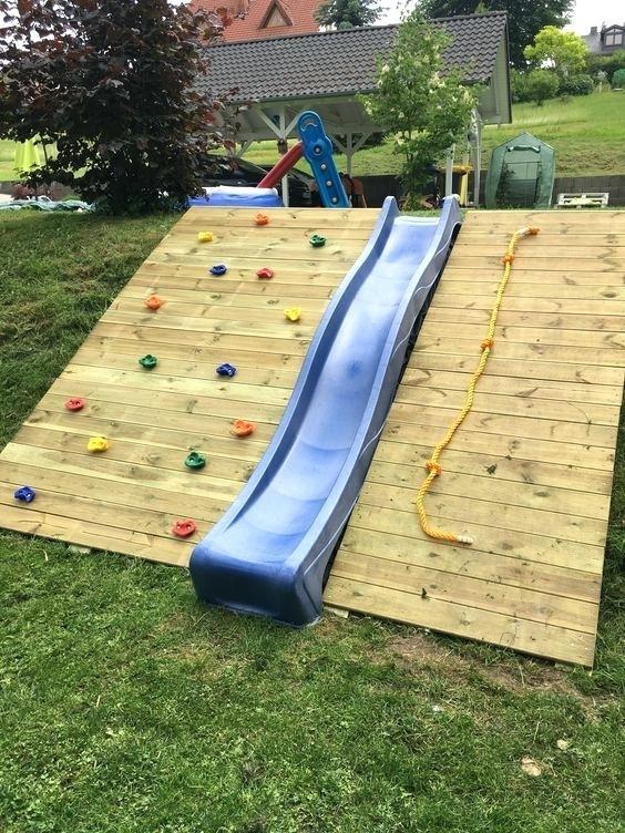 Cute Backyard Garden Playground Ideas 9