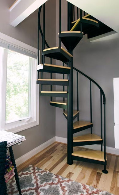 Attic Stairs, Spiral Staircases for Attics | Paragon Stairs