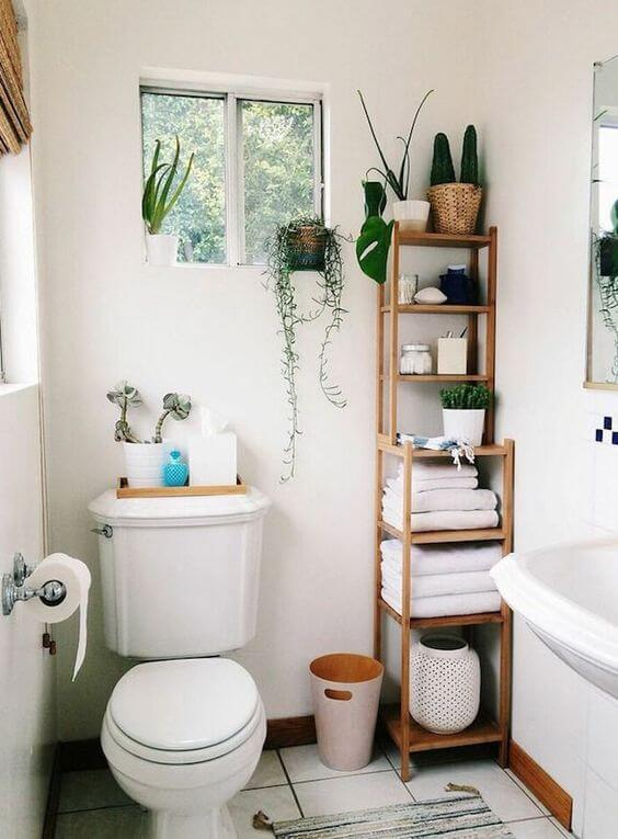28 Small Bathroom Storage Ideas to Getting Clutter Away - Harp Times