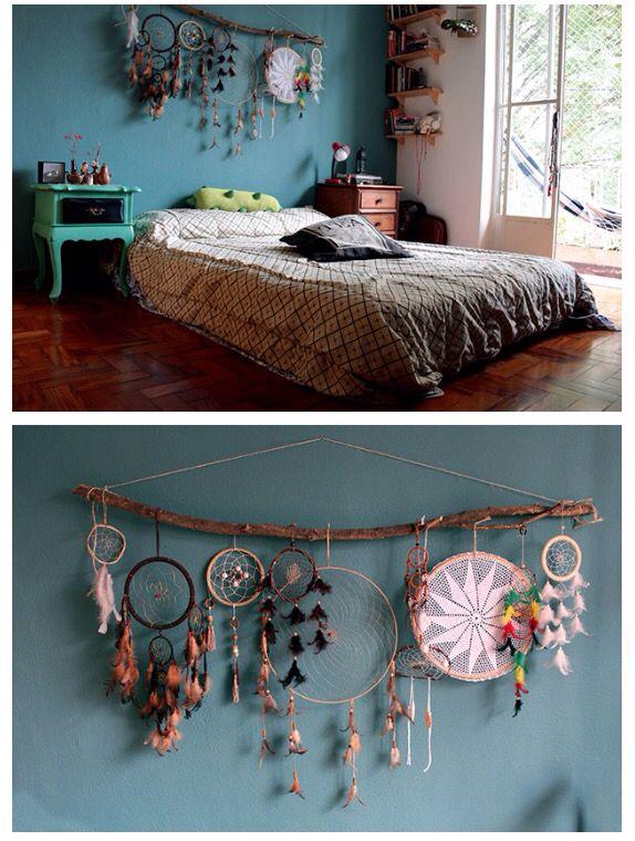Pin by Daniela Pinter on dreamcatcher | Bohemian bedroom design
