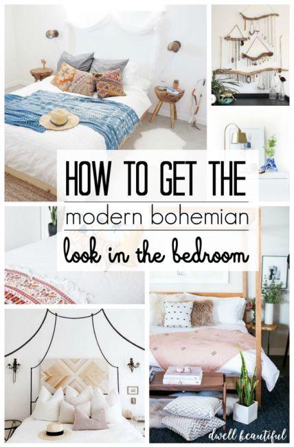 Modern Bohemian Bedroom Inspiration |