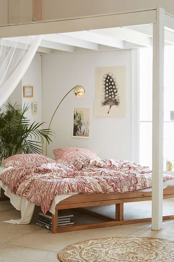 Top 17 Beauty Bohemian Bedroom Designs u2013 Easy Interior Idea For DIY