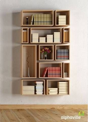 45 DIY Bookshelves: Home Project Ideas That Work | Shelves | Home