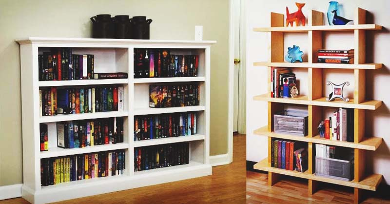 141 DIY Bookshelf Plans & Ideas to Organize Your Precious