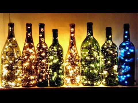 DIY projects : 30 Amazing Diy Bottle Lamp Ideas cool DIY projects