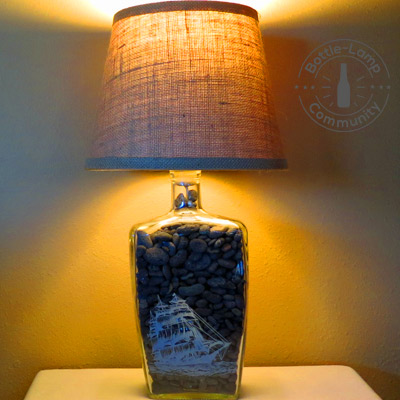 11 DIY Bottle Lamp Ideas | How To Make A Bottle Lamp