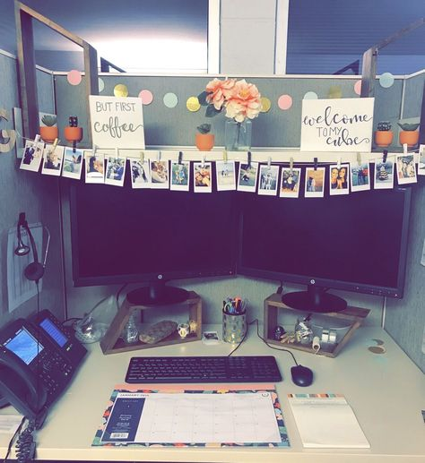 51 DIY Cubicle Decor Ideas for Better Working Space | Furniture for