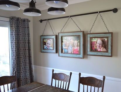 Iron Pipe Family DIY Photo Display | Focus walls | Home Decor, Room
