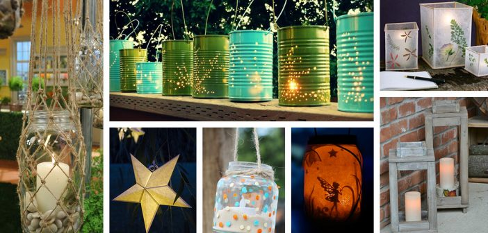 28 Best DIY Garden Lantern Ideas and Designs for 2019