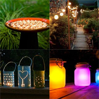 Diy Outdoor Lighting Ideas 1