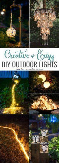 63 Best Outdoor Lighting Ideas images in 2019 | Gardens, Exterior
