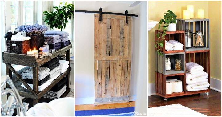 Diy Pallet Projects For Bathroom 9