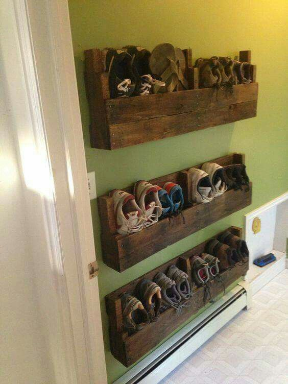Diy Rustic Organizing Storage Projects Ideas