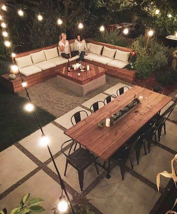 24 Beautiful Backyard Design Ideas On a Budget | Backyard patio