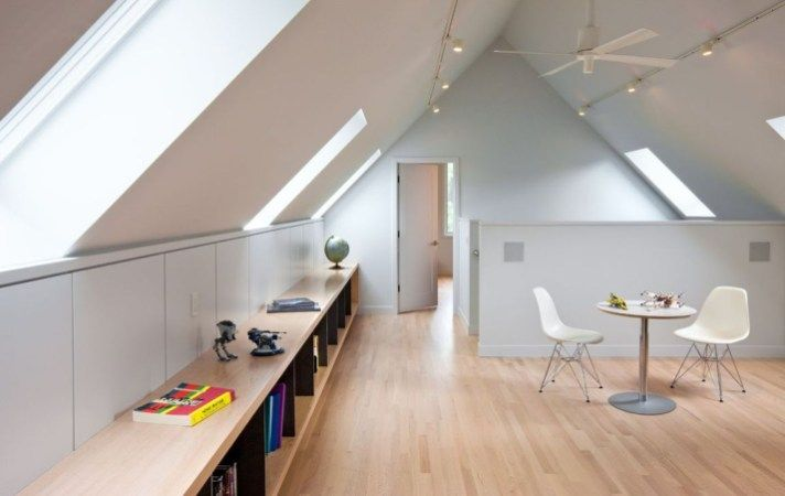 49 Elegant Modern Attic Ideas | Redesign | Attic loft, Attic, Attic