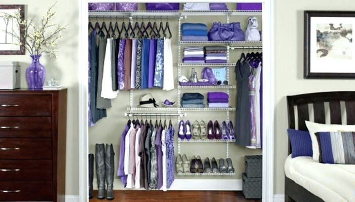 Small Walk In Closet Solutions Elegant Small Closet Shelving Ideas