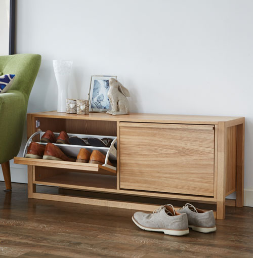 Shoe storage bench and also hallway bench seat and also small