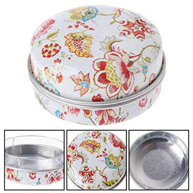 Amazon.com: Milue Elegant Small Tinplate Storage Box Wedding Candy