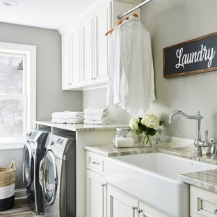 75 Most Popular Traditional Dedicated Laundry Room Design Ideas for