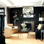 Extraordinary Black Living Room Designs