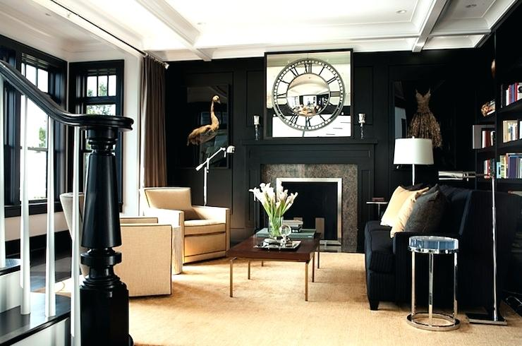 Black And Gold Living Room Ideas Decorations Stunning Design Black