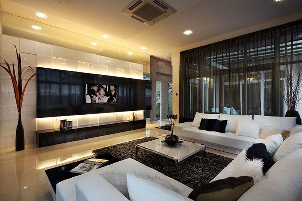 15 Modern Day Living Room TV Ideas | Family Room Ideas | Interior