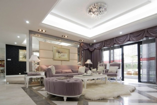 Extraordinary Luxury Living Room Ideas Which Abound with Glamour and