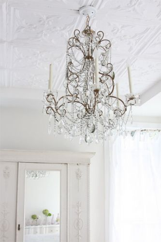 fabulous chandelier | Life Must Have Sparkle | Pinterest