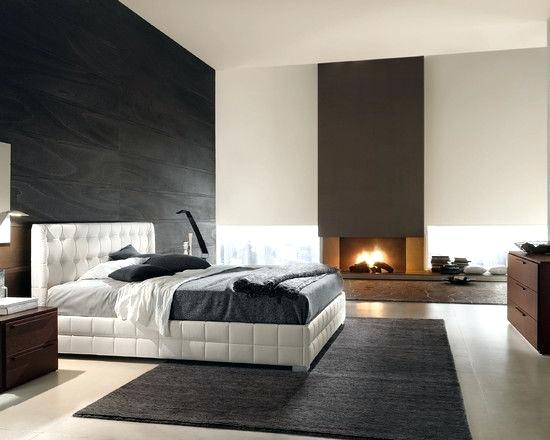 Fabulous Master Bedroom Ideas With Fireplace And Modern Modern